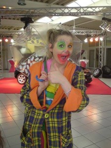 Kindergeburtstag-Clown