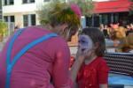 die Kleine möchte, wie ich, ein Clown sein